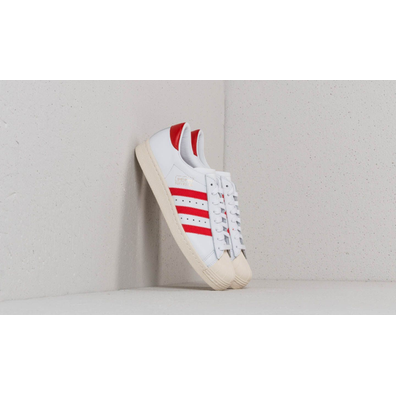 adidas Superstar OG Ftw White/ Core Red/ Off White productafbeelding