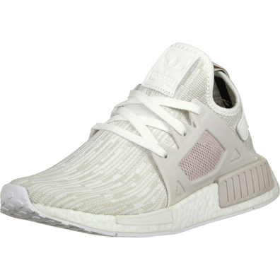 adidas NMD XR1 Primeknit Grey White productafbeelding