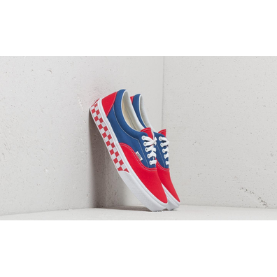 Vans Era (BMX Checkerboard) True Blue/ Red productafbeelding