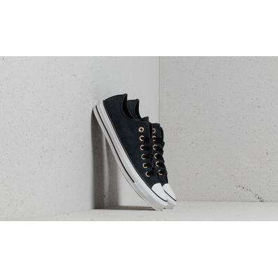 Converse Chuck Taylor All Star OX Black/ Black/ White productafbeelding