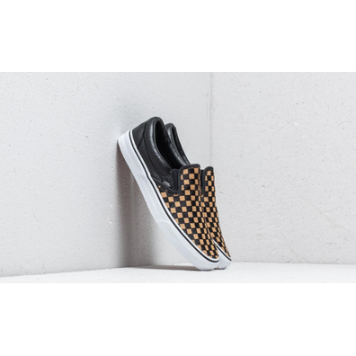 Vans Classic Slip-On (Calf Hair) Checkerboard/ True White productafbeelding