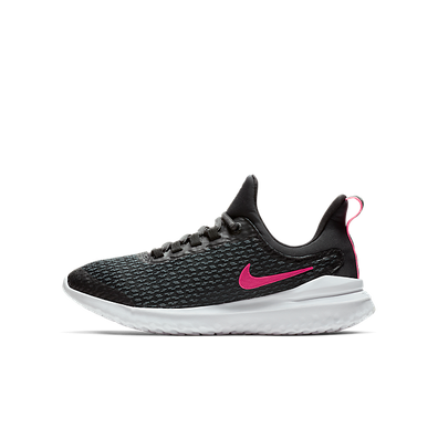 Nike Renew Rival (GS) Black/ Racer Pink-Anthracite productafbeelding