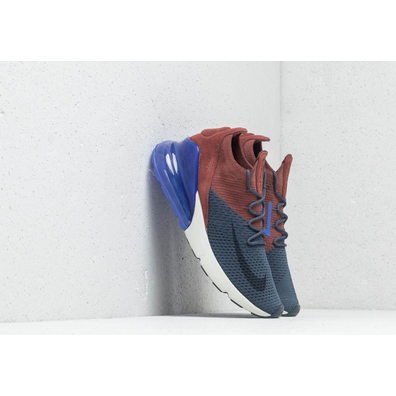 Nike Air Max 270 Flyknit Thunder Blue/ Grid Iron productafbeelding