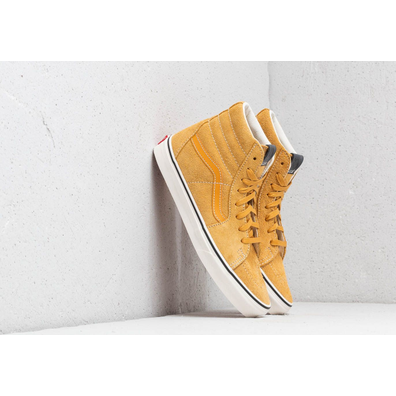 Vans Sk8-Hi (Hairy Suede) Sunflower/ Snow White productafbeelding