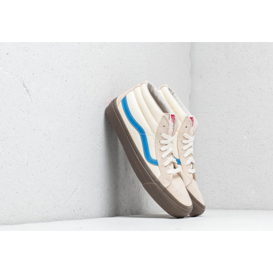 Vans OG Sk8-Mid LX (Suede/Canvas) White Asperagus productafbeelding