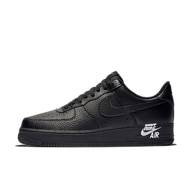 Nike Air Force 1 '07 Leather Black/ Black-White productafbeelding