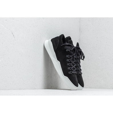 Filling Pieces Mountain Cut Ghost Waxed Suede Black productafbeelding