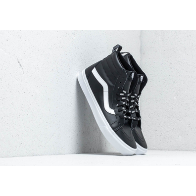 Vans Sk8- Hi Reissue Of The Wall Webbing Black/ Leather productafbeelding