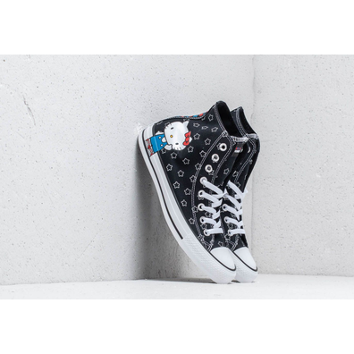 Converse x Hello Kitty Chuck Taylor All Star Hi Black/ White/ Directoire Blue productafbeelding