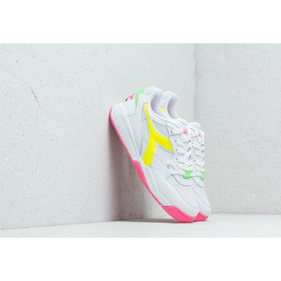 Diadora Rebound Ace Fluo White/ Pink Flulo productafbeelding