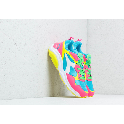 Diadora Whizz Run Fluo White/ Pink Fluo productafbeelding