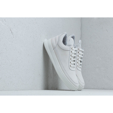 Filling Pieces Low Top Plain Lane Nubuck White productafbeelding