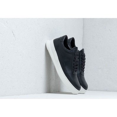 Filling Pieces Low Mondo Ripple Nardo Nappa Black productafbeelding
