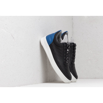 Filling Pieces Low Top Ripple Hades Black/ Blue productafbeelding