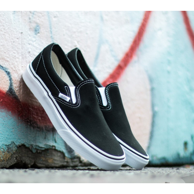 Vans Classic Slip-On Black productafbeelding