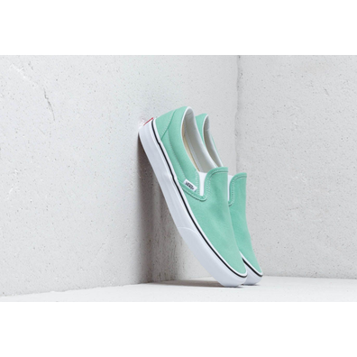 Vans Classic Slip-On Neptune Green/ True White productafbeelding