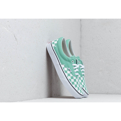 Vans Era (Checkerboard) Neptune Green productafbeelding