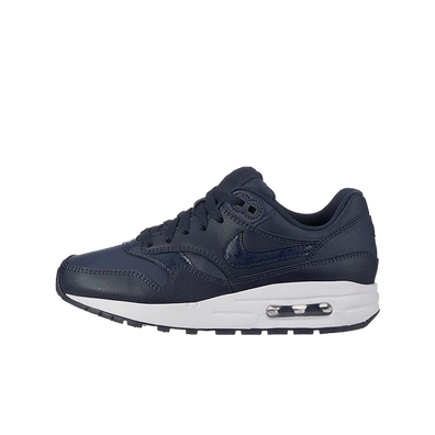 Nike Air Max 1 (GS) Obsidian/ Obsidian-White productafbeelding
