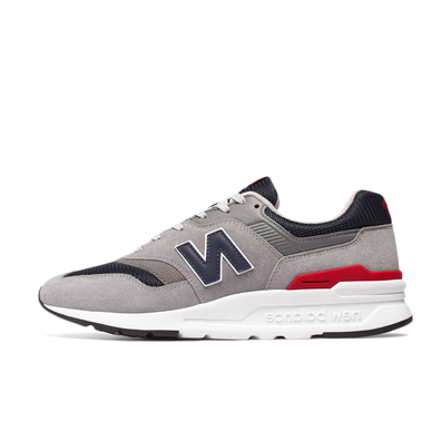 New Balance 997 Grey/ Navy/ Red/ White productafbeelding