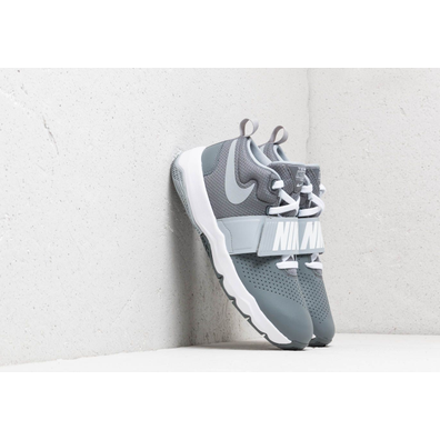 Nike Team Hustle D 8 (GS) Cool Grey/ Wolf Grey-White productafbeelding