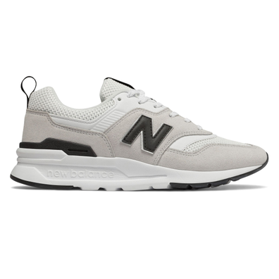New Balance 997 Grey/ White/ Black productafbeelding