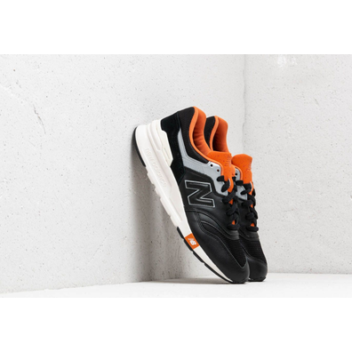 New Balance 997 Black/ Orange/ Grey productafbeelding