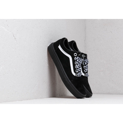 Vans Old Skool (Check Lace) Black/ Black productafbeelding