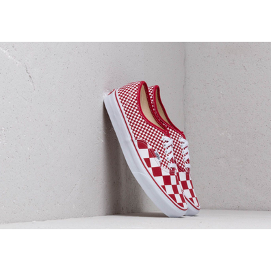 Vans Authentic (Mix Checker) Chili Pepper productafbeelding
