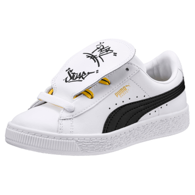 Puma Minions Basket Tongue 365151 01 productafbeelding
