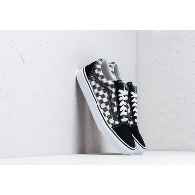 Vans Old Skool (Blur Check) Black/ Classic productafbeelding