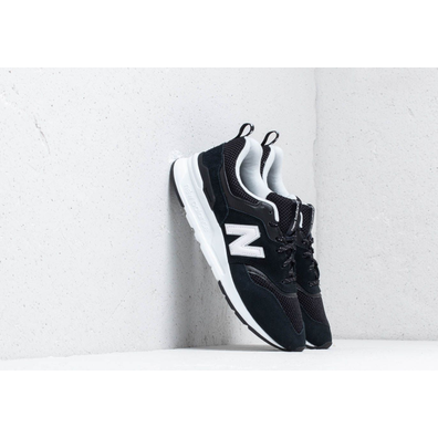 New Balance 997 Black/ White productafbeelding