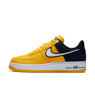 Nike Air Force 1 ´07 LV8 1 (Amarillo / White - Obsidian - Black) productafbeelding