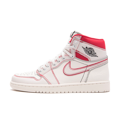 finest selection 5477b 725e8 Air Jordan 1  Sail University Red