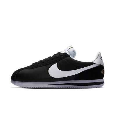 "Nike Cortez Basic Nylon Prem ""Compton"" (Black/White-Metallic Gold) productafbeelding"