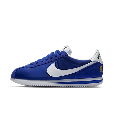 "Nike Cortez Basic Nylon Prem ""Long Beach"" (Old Royal/White-Metallic Gold) productafbeelding"