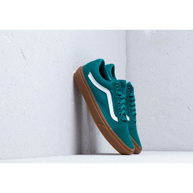 Vans Old Skool Quetzal Green/ Gum productafbeelding