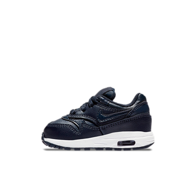 Nike Air Max 1 (TD) Boys Obsidian/Obsidian-White productafbeelding
