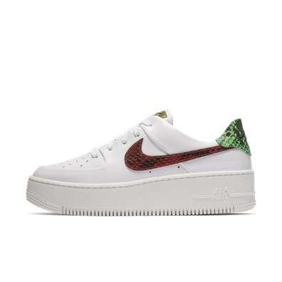 Nike Air Force 1 Sage 'Snake' productafbeelding