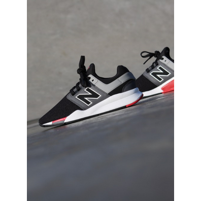 New Balance 247 Black/Grey GS productafbeelding
