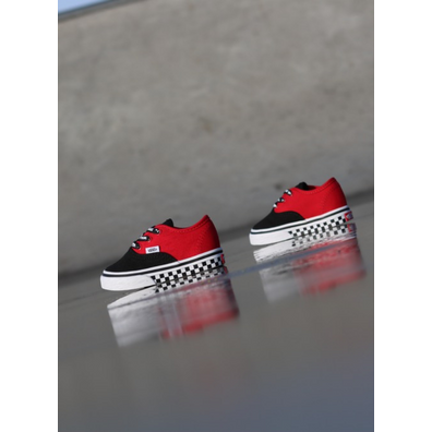 Vans Authentic Black/Red/Logo TS productafbeelding