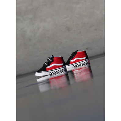 Vans Sk8-mid Reissue Red/Black Checker TS productafbeelding