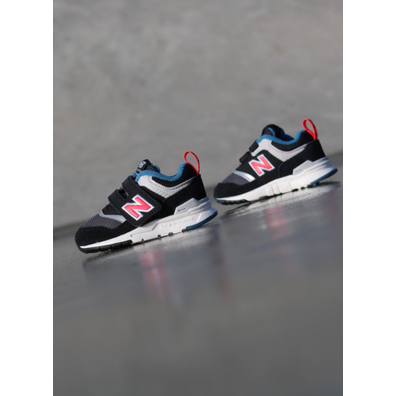 New Balance 997 Black/Red TS productafbeelding