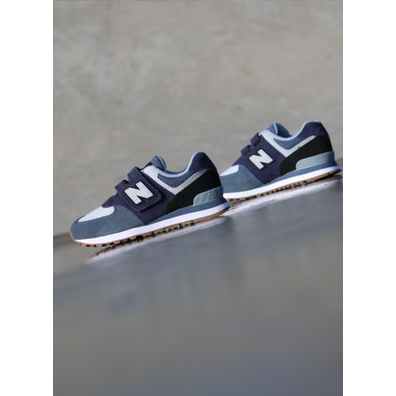 New Balance 574 Pigment/Blue PS productafbeelding