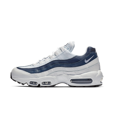 Nike Air Max 95 Essential White/ White-Midnight Navy-Monsoon Blue productafbeelding