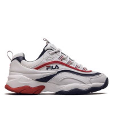 Fila Ray F Low White Navy Red productafbeelding