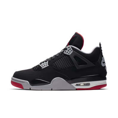 9817b4b12b18 Air Jordan 4 Retro  Bred