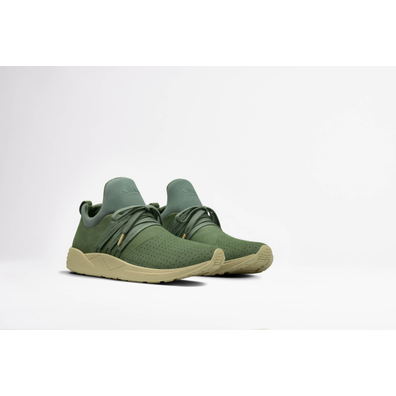 Arkk Raven Nubuck S-E15 Dusty Green Full productafbeelding