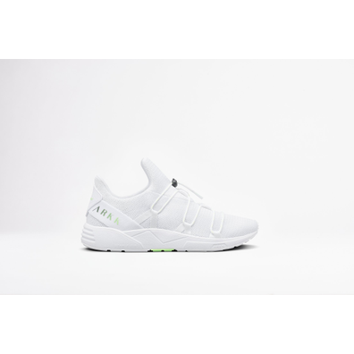 Arkk Scorpitex Mesh S-E15 White Luminious Green-MEN productafbeelding