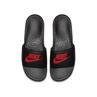 Nike Benassi Just Do It. Sandal Black Challenge Red 343880-060 productafbeelding