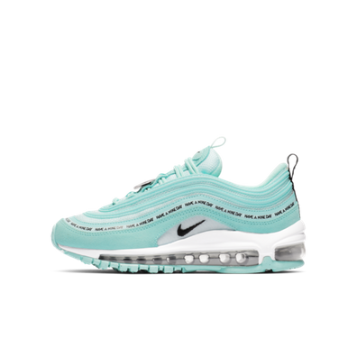 Nike Air Max 97 GS Teal 'Have A Nike Day' productafbeelding